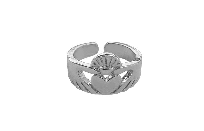 Toe Ring Silver - Claddagh