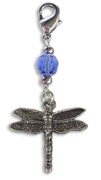 Charm Small Silver - Dragonfly