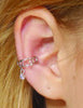Ear Cuff Silver - Dangling Bead