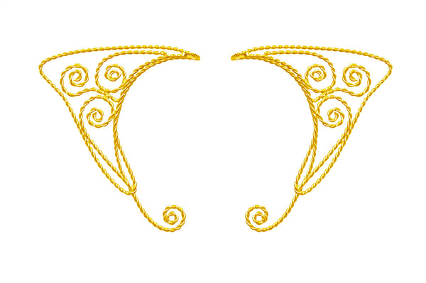 Elf Cuff Spirals - Gold