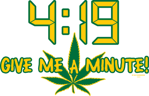 4:19 Give Me A Minute Mens T-shirt