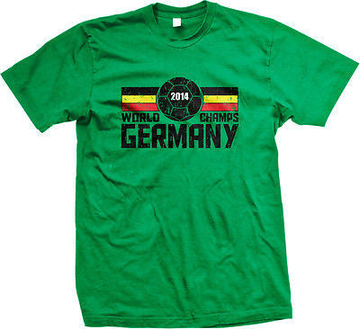 2014 World Champs Germany Soccer Ball Cup Deutschland Fußball Mens T-shirt