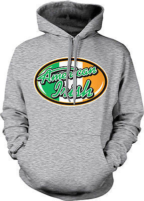 American Irish Idol Ireland Pride St Patricks Day  Hoodie Pullover Sweatshirt