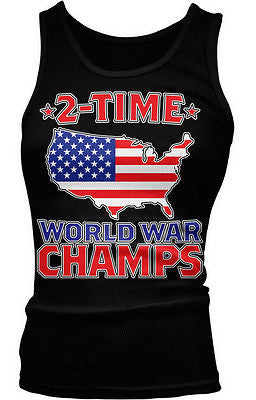 2-time World War Champs Junior's Tank Top