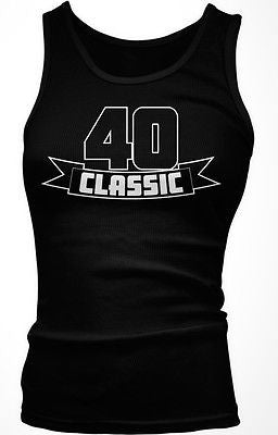 40 Forty Junior's Tank Top