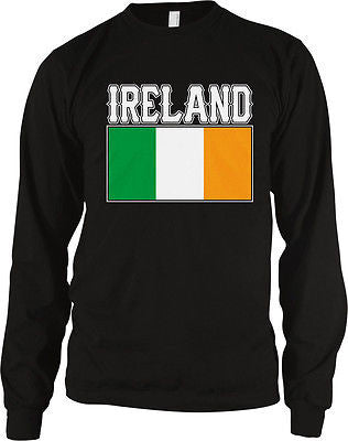Ireland Flag Irish Pride Soccer Rugby National Pride Long Sleeve Thermal