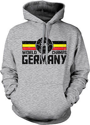2014 World Champs Germany Soccer Ball Cup Deutschland Fußball Hoodie Pullover