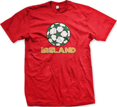Ireland Soccer Ball Irish Eire Éire Gaelic Dublin Football Pride Mens T-shirt