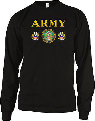 Army Emblem Great Seal USA United States of America Troops Long Sleeve Thermal
