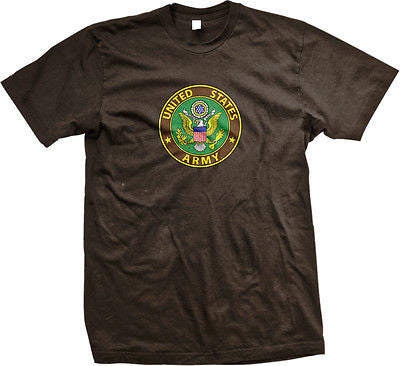 Army Great Seal United States Armed Forces Military Pride Mens T-shirt