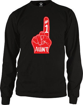 #1 Number One Great Aunt Long Sleeve Thermal