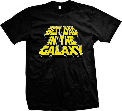 Best Dad In The Galaxy Parody T-shirt