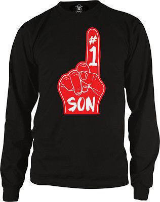 #1 Number One Son Long Sleeve Thermal