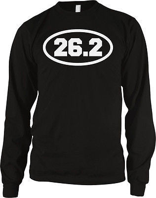 26.2 Marathon Long Distance Running Runner Road Race Athlete Long Sleeve Thermal