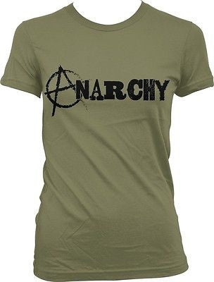 Anarchy Circle-A Anarcho-punk Anti-Globalization Anarchist Juniors T-shirt