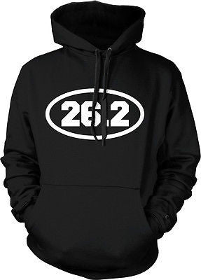 26.2 Marathon Long Distance Running Runner Road Race Hoodie Pullover Sweatshirt