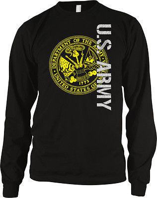 Army Seal Military Armed Forces USA Pride Patriotic Soldiers Long Sleeve Thermal