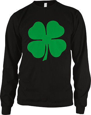 4 Four Leaf Clover Lucky Charm Irish Pride St Patricks Day Long Sleeve Thermal