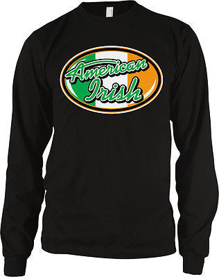 American Irish Pride Idol Ireland St Patricks Day Eire Lucky Long Sleeve Thermal