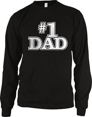#1 Dad Long Sleeve Thermal