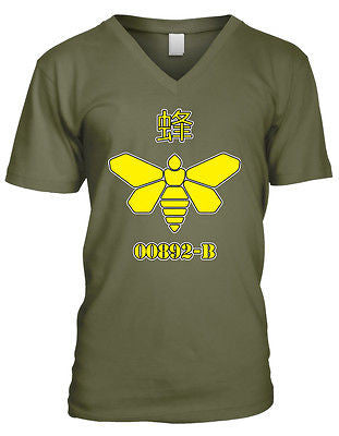 00892-b Golden Moth Chemical Breaking Bad Madrigal Walter TV Mens V-neck T-shirt