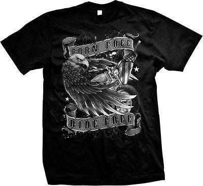 Born Free Ride Free T-shirt