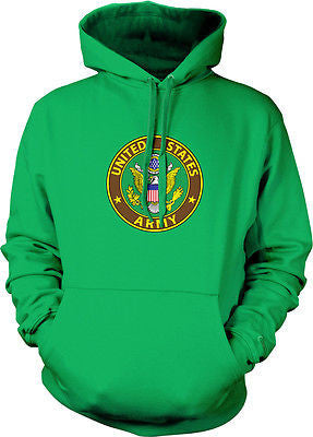 Army Great Seal United States Armed Forces Military Pride Hoodie Pullover