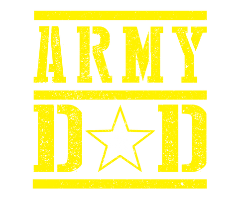Army Dad Fathers Day USA Proud Son Daughter Serving Troops Present Mens T-shirt