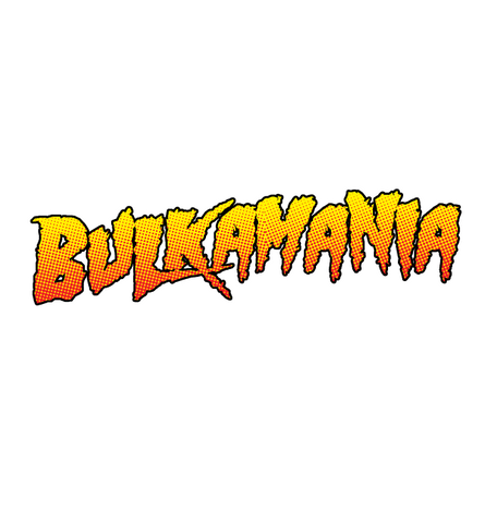 Bulkamania Weight Lifting Parody Joke Humor Funny Exercise Fitness Mens T-shirt