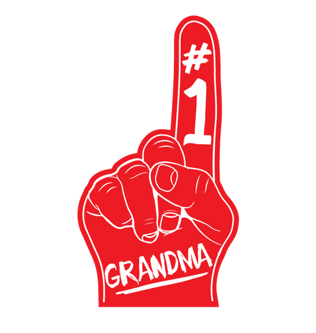 #1 Number One Grandma Long Sleeve Thermal
