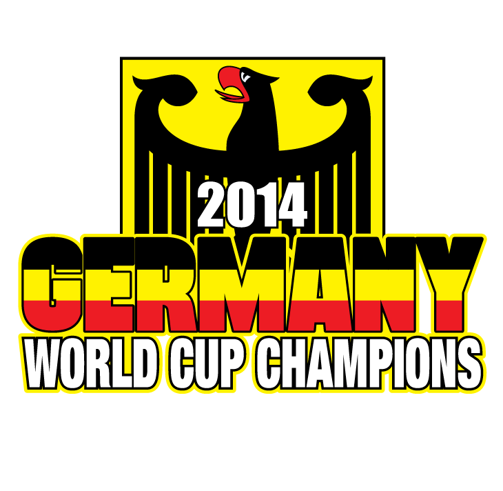 Germany 2014 World Cup Champions Deutschland Eagle Soccer Fußball ...
