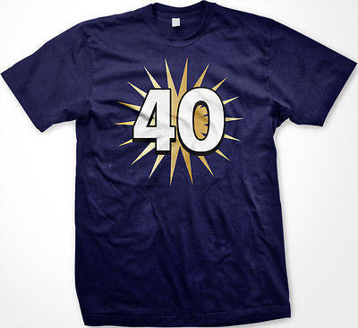 40 Fortieth Forty Years Old Happy Birthday Party Getting Old New Men's T-shirt