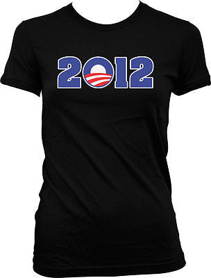 2012 Obama President Campaign Vote Voting Democratic Hope Juniors Girls T-shirt