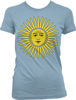 Argentina Argentinia​n Sun of May Sol de Mayo World Cup Juniors Girls T-shirt