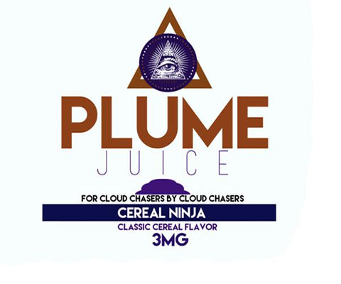 Plume Juice — Cereal Sample Pack 3MG
