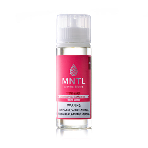 MNTL Strawberry Mango: Menthol Eliquid 120ML
