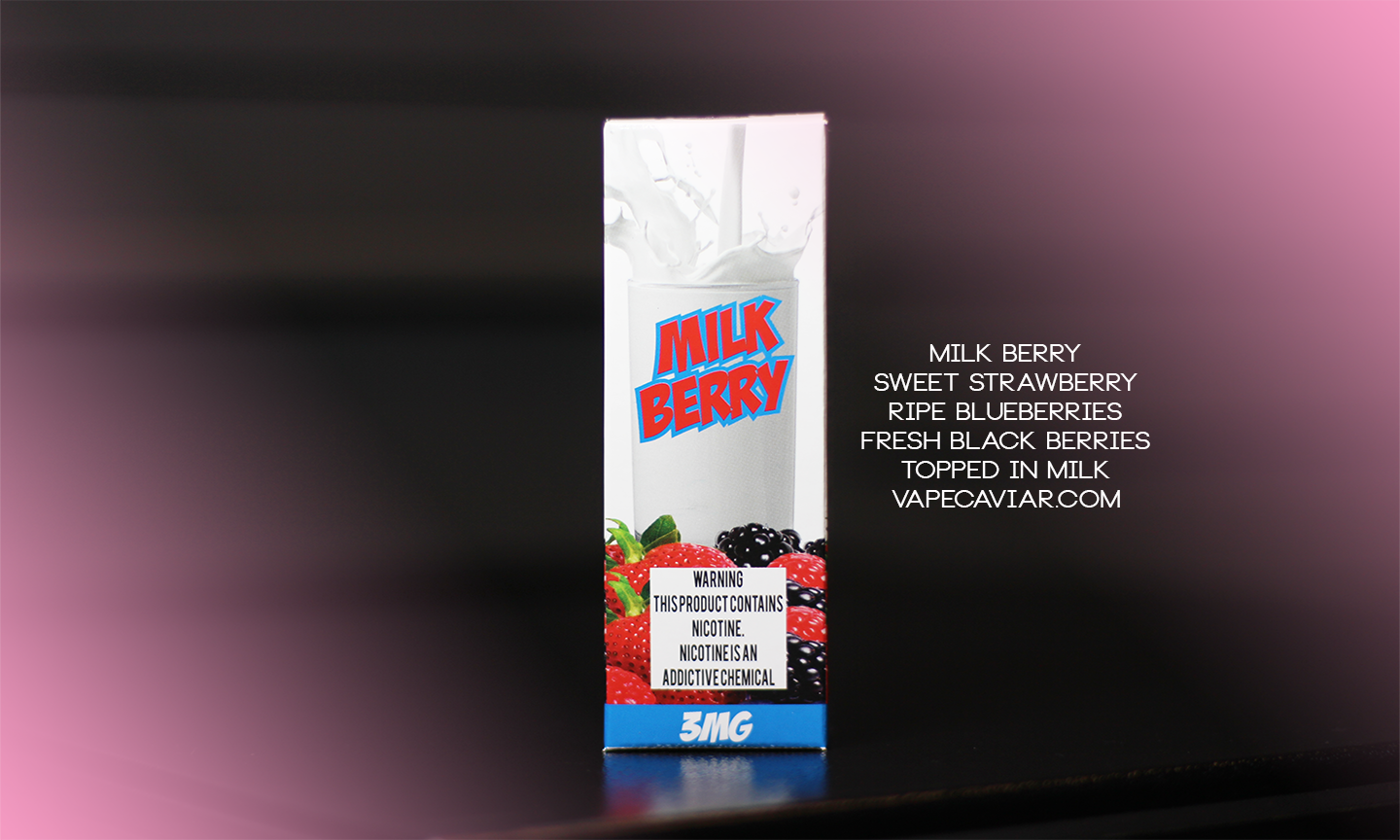 Milk Berry IS BACK Limited TIME!!! - 120ML