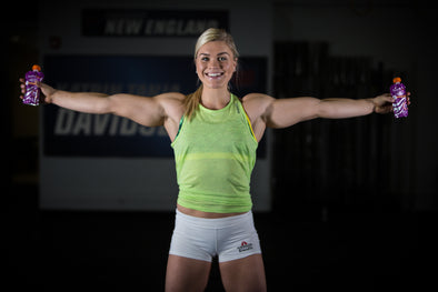 FUEL FOR FIRE® ANNOUNCES SPONSORSHIP OF CROSSFIT® GAMES CHAMPION KATRIN DAVIDSDOTTIR.