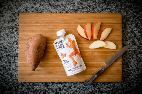 Sweet Potato Apple Cinnamon Smoothie