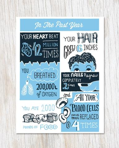 A Year of You Card