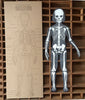Articulated Skeleton Letterpress Figure