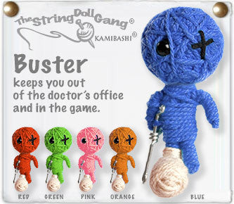 Buster String Doll Keychain