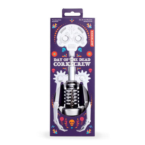 Day of the Dead Skeleton Corkscrew