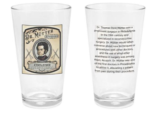Dr. Mütter Pint Glass