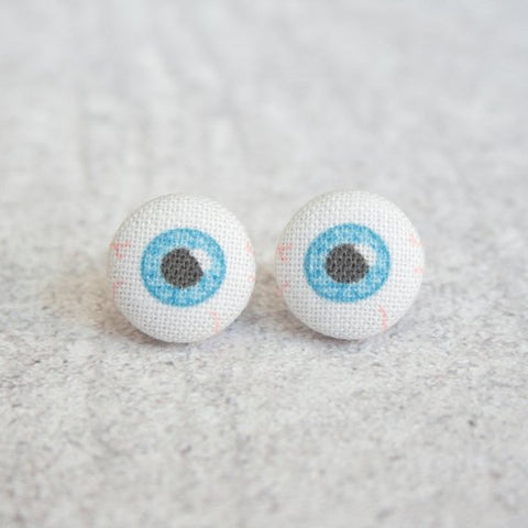 Eyeball Fabric Earrings