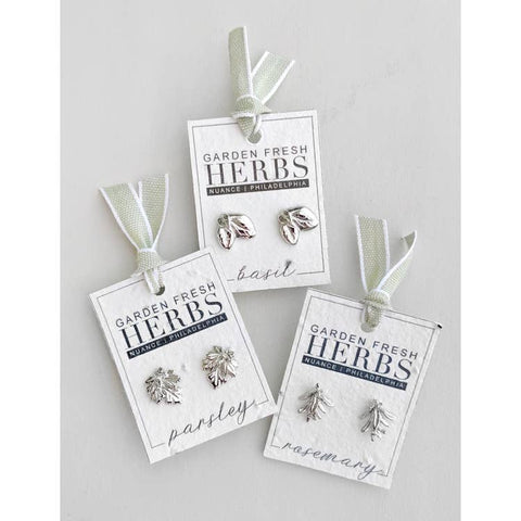 Herb Stud Earrings