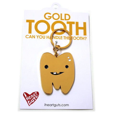 Gold Tooth Keychain
