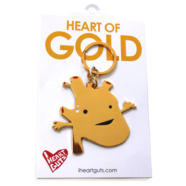 Heart of Gold Keychain
