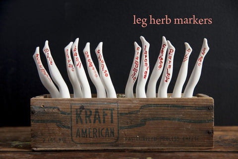 Leg Herb Markers