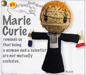 Marie Curie String Doll Keychain